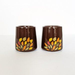 Vintage Fall Harvest Tealight Candle Holders